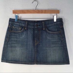 CITIZENS OF HUMANITY   Jean Mini Skirt Bridgette